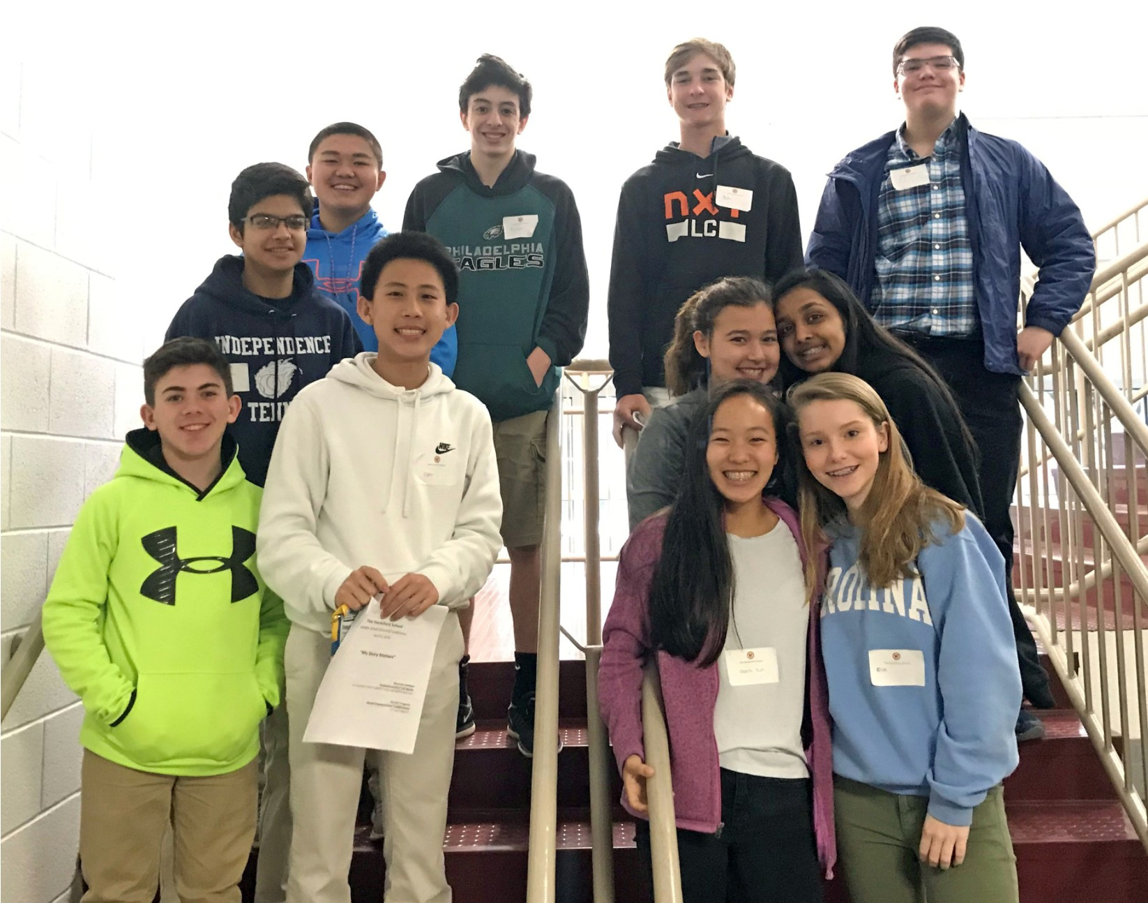 Student Government Association represented at Middle School Diversity Conference