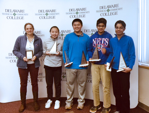 MATHCOUNTS team wins states; 8th graders Parth Rustagi, Nick Zhu qualify for nationals