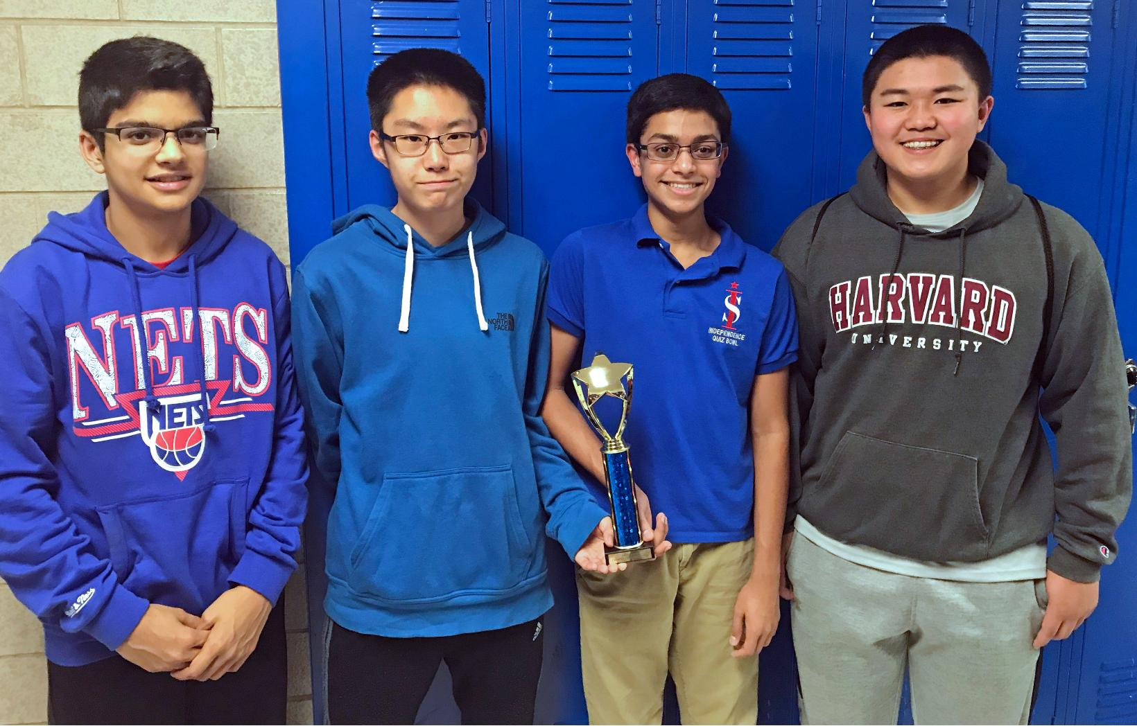 EIGHTH-GRADE QUIZ BOWLERS HEADED TO NATIONALS
