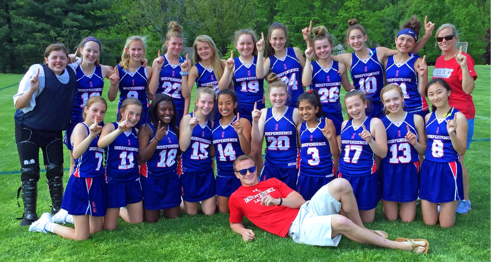 Girls' Lacrosse Undefeated for 2nd Time in 4 Years