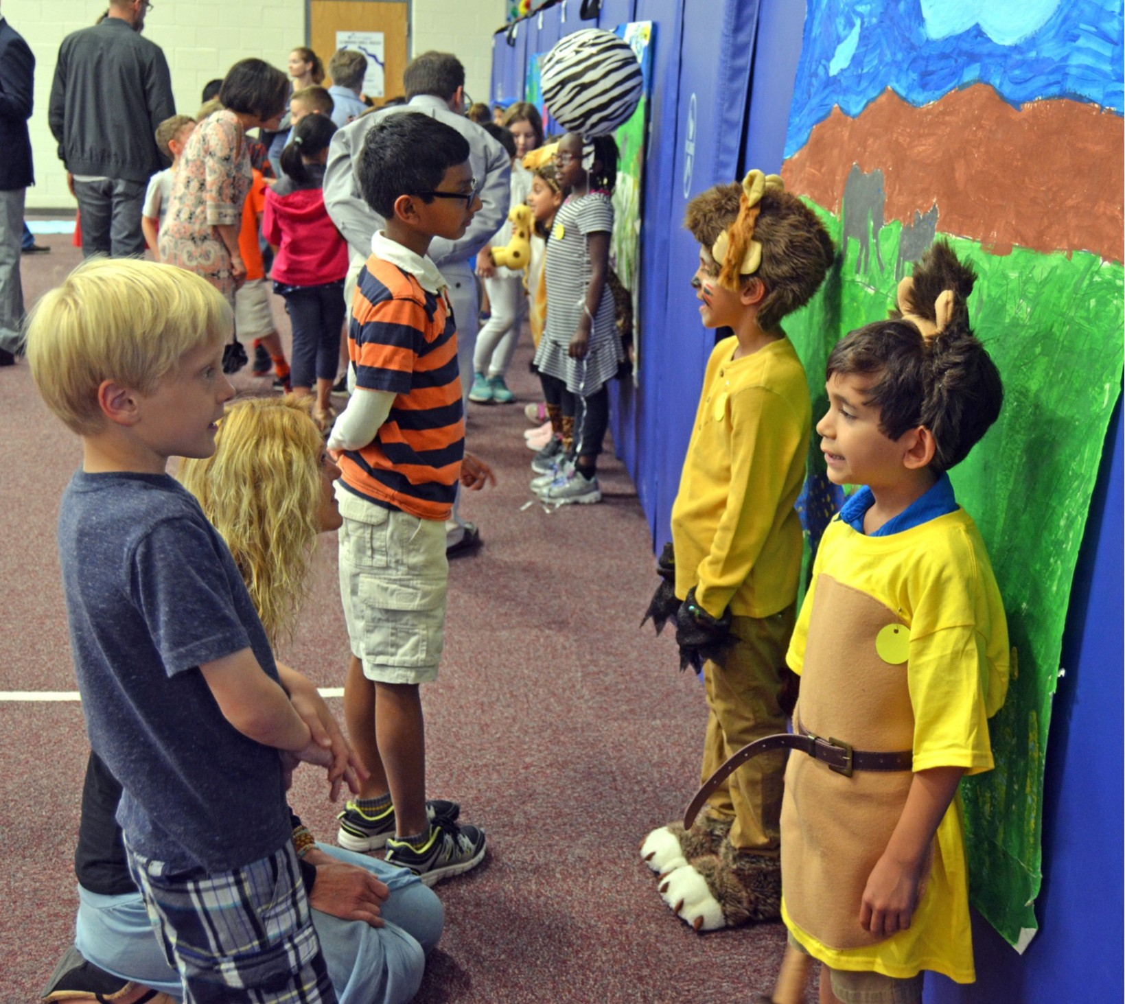 First-grade Mammal Zoo project enriched with incorporation of green screen technology