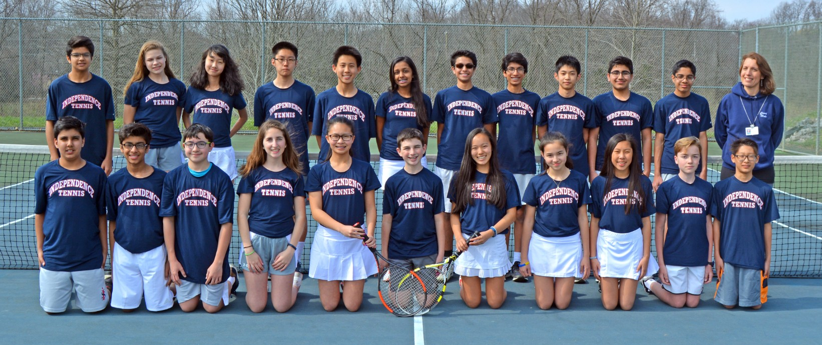 Tennis undefeated for 7th season in a row