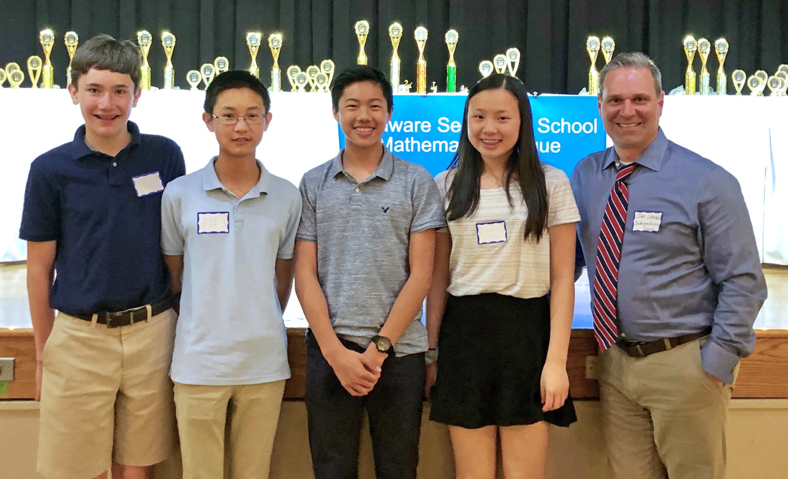 Eighth graders make impact at Math League States