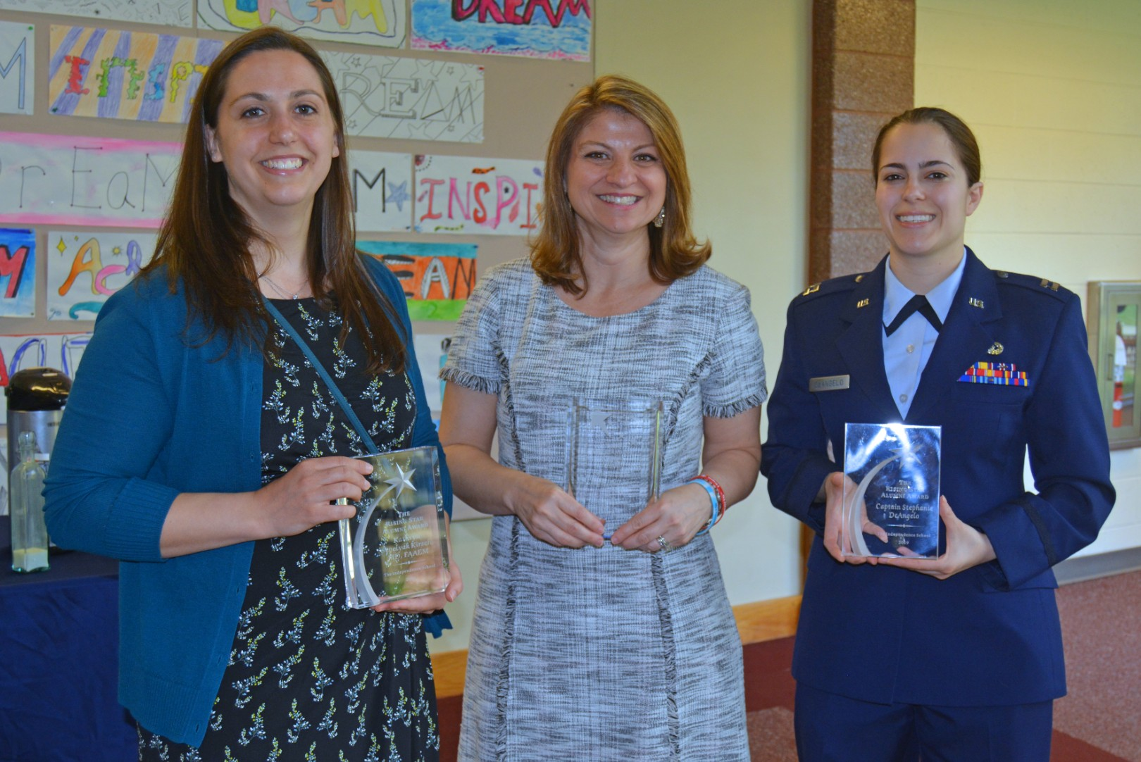 Four graduates honored with Alumni Awards