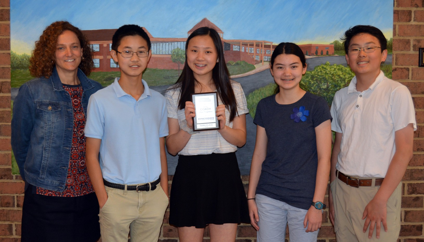 Eighth-grade team makes math count at states
