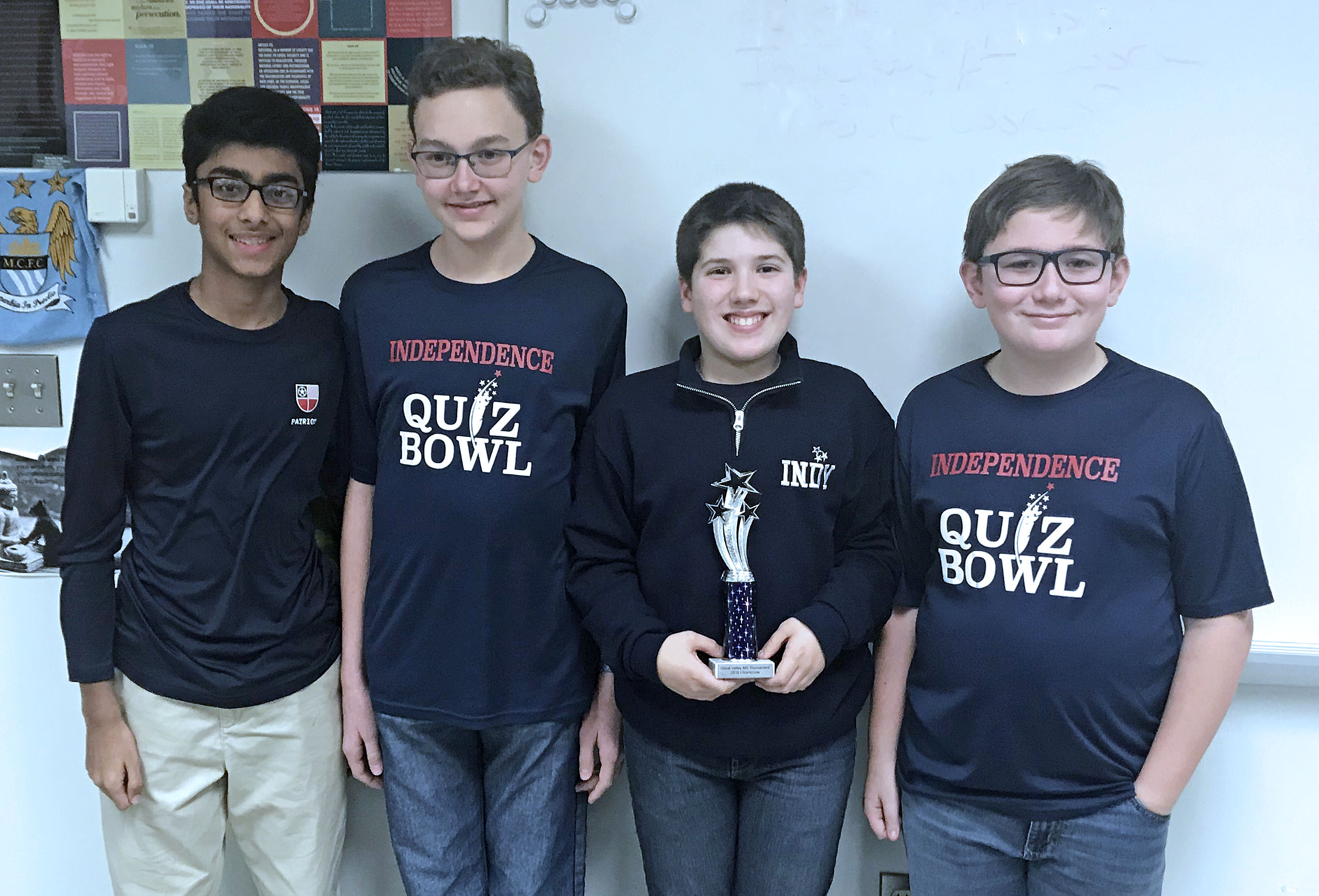 Indy qualifies Quiz Bowl team for 2019 Nationals