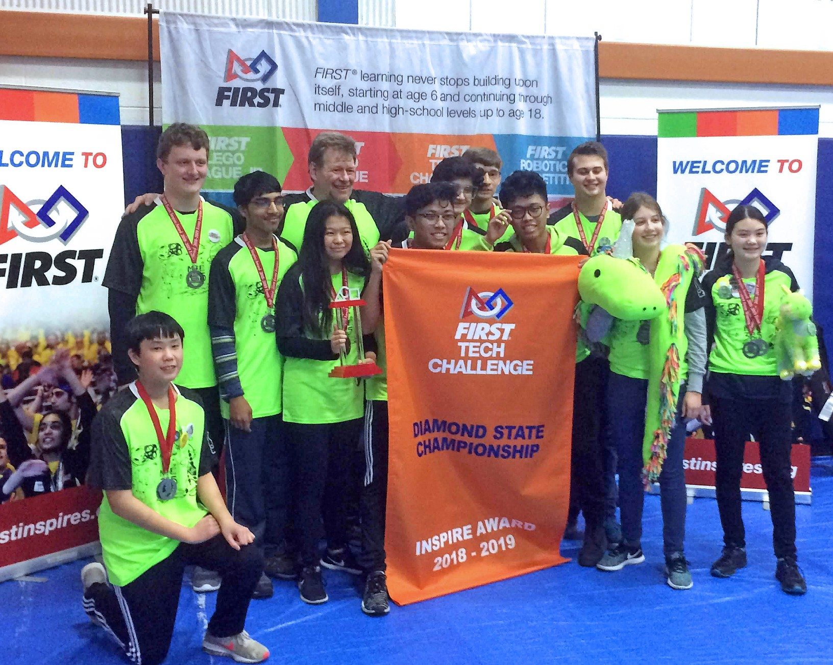Eighth grader Clare O'Dwyer, robotics teammates qualify for worlds