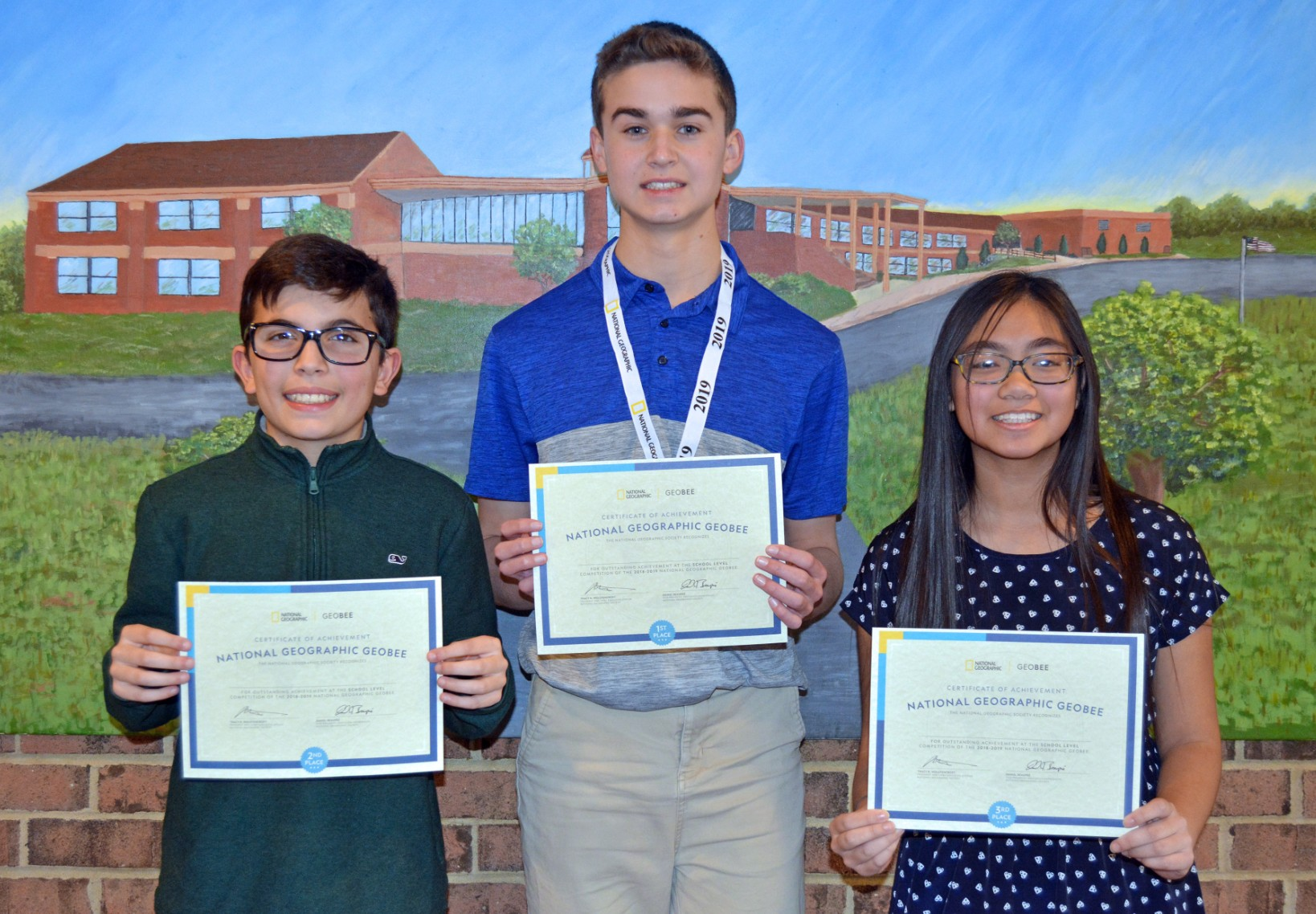 EIGHTH GRADER SAM MCKEOWN PLACES 1ST IN INDY GEOGRAPHIC BEE