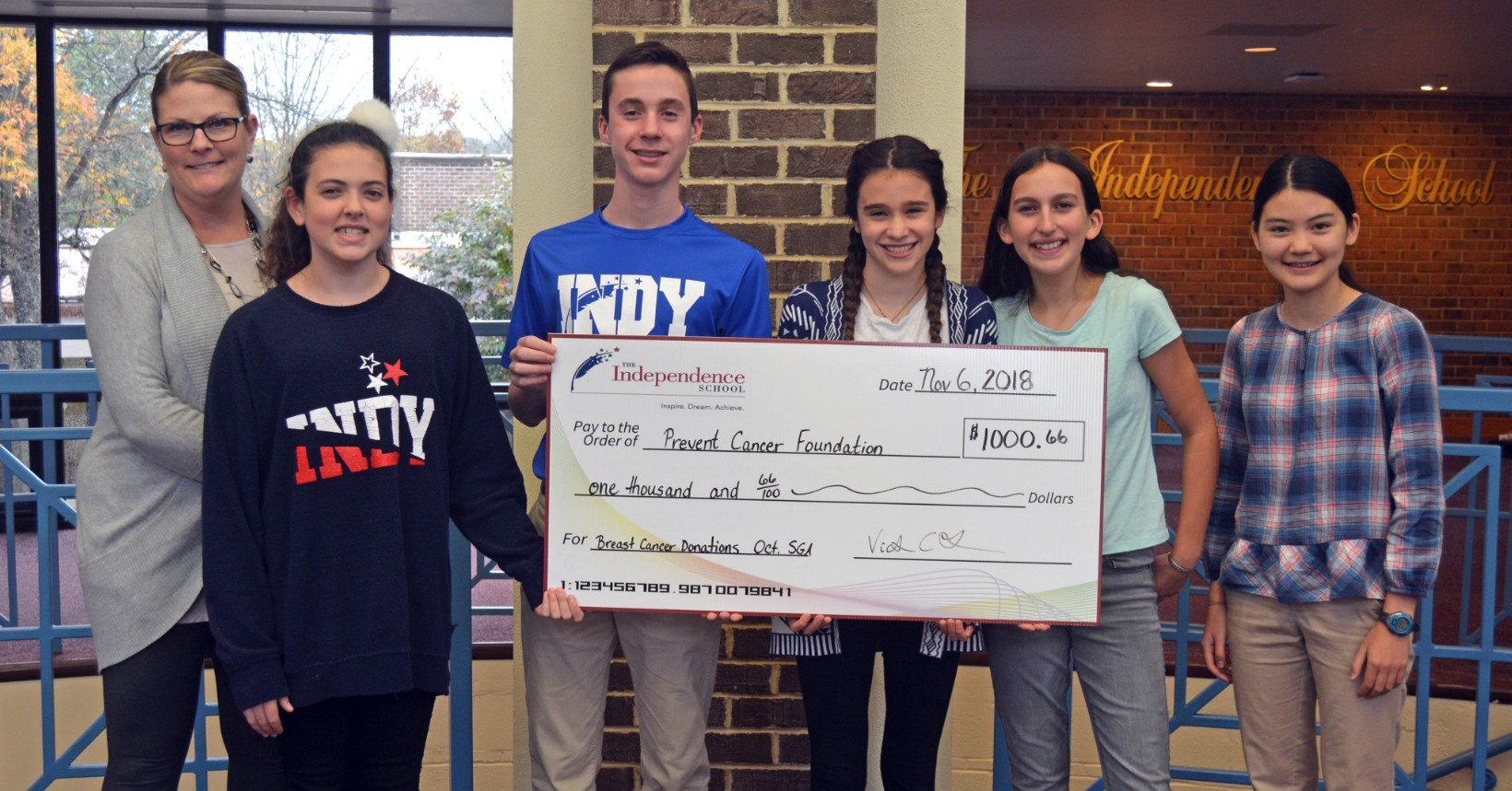 SGA, Indy community raise $1,000 for cancer research